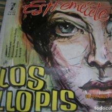 Discos de vinilo: LOS LLOPIS - ESTREMECETE EP - ORIGINAL ESPAÑOL - ZAFIRO RECORDS 1960 - MONOAURAL.. Lote 254178370
