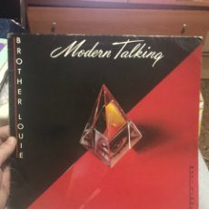 Discos de vinilo: MODERN TALKING . BROTHER LOUIE . M/S. Lote 254187375