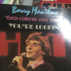 Discos de vinilo: BARRY MANILOW TONIGHT ARISTA 1983. Lote 254187745