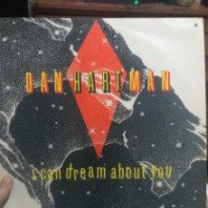 Discos de vinilo: DAN HARTMAN DISCO LP I CAN DREAM ABOUT YOU WARNER BROSS. Lote 254189305