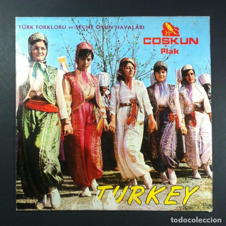 Discos de vinilo: VARIOS - Folklor Ve Oyun Havalari: Folk Songs And Music - LP TURCO - COSKUN - Foto 1 - 254198810