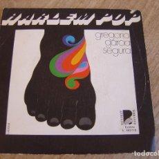 Discos de vinilo: RARO SINGLE GREGORIO GARCIA SEGURA. HARLEM POP/DISTORSIONANDO. BEVERLY RECORDS. 1976. PROBADO.. Lote 254188340