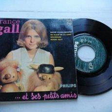 Discos de vinilo: FRANCE GALL ET SES PETITS AMIS* – SACRÉ CHARLEMAGNE + 3 EP FRANCIA 1964 VINILO VG++/PORTADA VG+. Lote 254203915