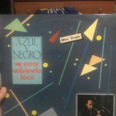Discos de vinilo: AZUL Y NEGRO. ME ESTOY VOLVIENDO LOCO M/S. Lote 254204670