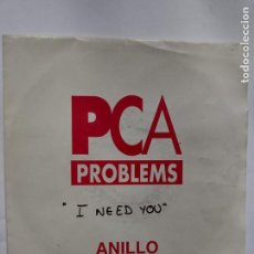 Discos de vinilo: PCA PROBLEMS ‎– I NEED YOU (LENNON / MCCARTNEY , VERSIÓN DE LOS BEATLES) 1993. Lote 254214200