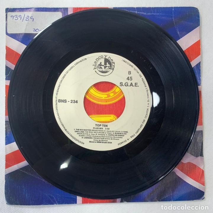 Discos de vinilo: SINGLE TOP TEN - LIPS KISS / CAPPELLA / LOCOMÍA / RAUL ORELLANA /CAROLINE DAMAS - ESPAÑA - AÑO 1989 - Foto 3 - 254214685