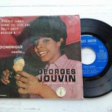 Discos de vinilo: DOMINIQUE CANTA... GEORGES JOUVIN, SA TROMPETTE – N'OUBLIE JAMAIS + 3 EP SPAIN VG/VG. Lote 254219685