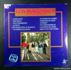 Discos de vinilo: LOS IRACUNDOS - 12 INOLVIDABLES - LP USA 1989 - GLOBO (PRECINTADO). Lote 254231185