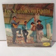 Discos de vinilo: LOS SHADOWS EN ESPAÑA 1963 GRANADA, ADIOS MUCHACHOS, VALENCIA, LAS TRES CARABELAS. Lote 254251075