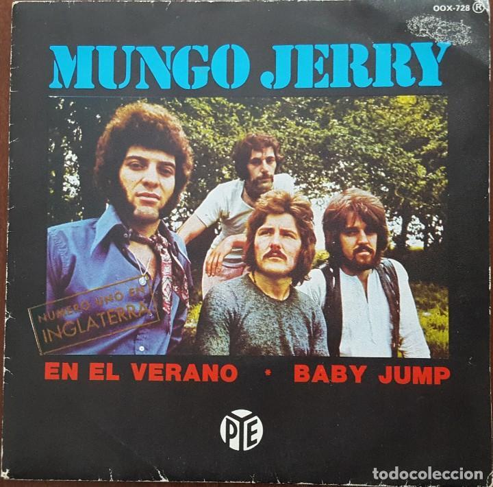 SINGLE / MUNGO JERRY - IN THE SUMMERTIME (EN EL VERANO), 1984 (Música - Discos de Vinilo - Singles - Pop - Rock Internacional de los 80)