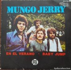 Discos de vinilo: SINGLE / MUNGO JERRY - IN THE SUMMERTIME (EN EL VERANO), 1984. Lote 254253305