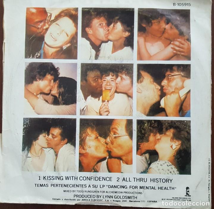 Discos de vinilo: SINGLE / WILL POWERS - KISSING WITH CONFIDENCE, 1983 - Foto 2 - 254254670