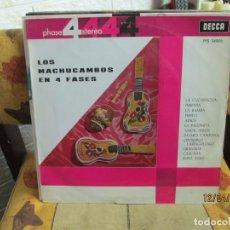 Discos de vinilo: LOS MACHUCAMBOS – LOS MACHUCAMBOS EN 4 FASES. Lote 254255920