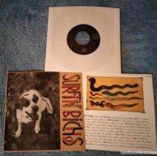 """Discos de vinilo: SURFIN BICHOS - DEBUT E.P. - 7"""" 4 TEMAS SPAIN 1989 - SURFIN' - NEAR MINT - INSERTO. Lote 254257785"""