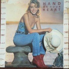 Discos de vinilo: SINGLE / KYLIE MINOGUE - HAND ON YOUR HEART, 1989 UK. Lote 254260980