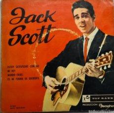 Discos de vinilo: JACK SCOTT EP SPAIN. Lote 254261900