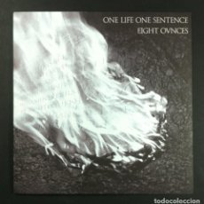 Discos de vinilo: EIGHT OVNCES WHAT IF? + ONE LIFE ONE SENTENCE NEVERENDING - SINGLE 2015 - CRUZADE (EDICION LIMITADA). Lote 254265475