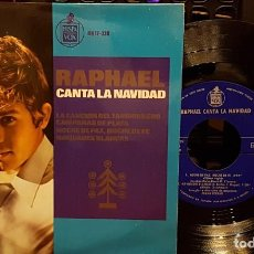 Discos de vinilo: RAPHAEL CANTA LA NAVIDAD. Lote 254270315