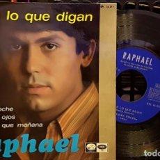 Discos de vinilo: RAPHAEL - DIGAN LO QUE DIGAN. Lote 254270690