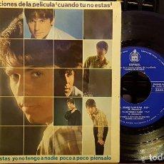 Discos de vinilo: RAPHAEL - CANCIONES DE LA PELICULA - CUANDO TU NO ESTAS. Lote 254271065