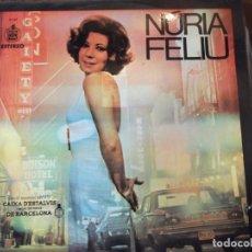 Discos de vinilo: DISCO LP NURIA FELIU MUSICA CATALANA 1975 HISPAVOX ( 12 CANCIONES ). Lote 254271175