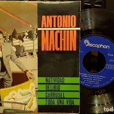 Discos de vinilo: ANTONIO MACHIN - NATIVIDAD. Lote 254274675