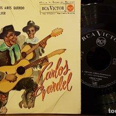 Discos de vinilo: CARLOS GARDEL - SILENCIO. Lote 254275395