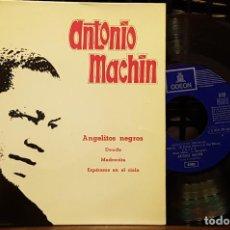 Discos de vinilo: ANTONIO MACHIN - ANGELITOS NEGROS. Lote 254275575