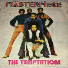 Discos de vinilo: SINGLE THE TEMPTATIONS - MASTERPIECE (VOCAL) - MASTERPIECE (INSTRUMENTAL) -PEDIDO MINIMO 7€. Lote 254277595