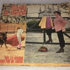 Discos de vinilo: SINGLE MARIFE DE TRIANA - SOY LA AFICION - PLEGARIA POR UN TORERO - COLUMBIA -PEDIDO MINIMO 7€. Lote 254280980