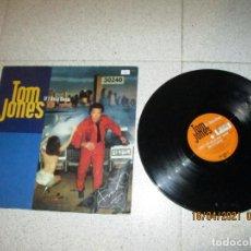 Discos de vinilo: TOM JONES - IF I ONLY KNEW - MAXI - GERMANY - ZTT - PLS 111 - L -. Lote 254294970