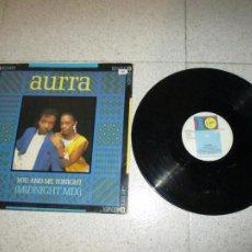 Discos de vinilo: AURRA - YOU AND ME TONIGHT - MAXI - SPAIN - VIRGIN - PLS 458 - L -. Lote 254295030