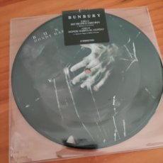 Disques de vinyle: BUNBURY. PICTURE DISC. MIS PROPIOS ERRORES/ DONDE HABITA EL OLVIDO. Lote 254302820