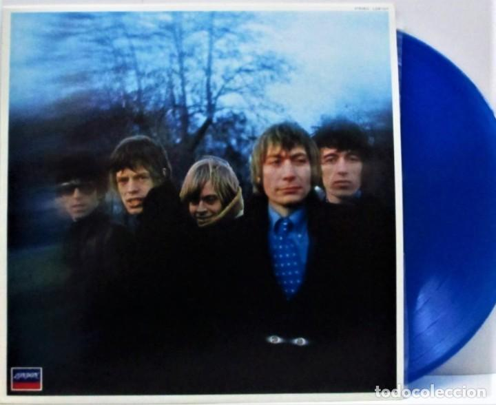 THE ROLLING STONES ‎– BETWEEN THE BUTTONS /MARAVILLOSO VINILO DE COLORES RAROS DE THE STONES (BLUE) (Música - Discos - LP Vinilo - Pop - Rock - New Wave Internacional de los 80)