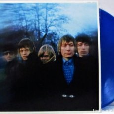 Discos de vinilo: THE ROLLING STONES ‎– BETWEEN THE BUTTONS /MARAVILLOSO VINILO DE COLORES RAROS DE THE STONES (BLUE). Lote 254303415