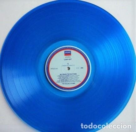 Discos de vinilo: The Rolling Stones ‎– Between The Buttons /Maravilloso vinilo de colores raros de The Stones (blue) - Foto 2 - 254303415