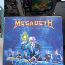"Disques de vinyle: MEGADETH ""RUST IN PEACE "". Lote 254304140"