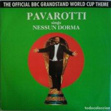 Discos de vinilo: LUCIANO PAVAROTTI, NESSUN DORMA, DECCA PAVOX 3. Lote 254312680