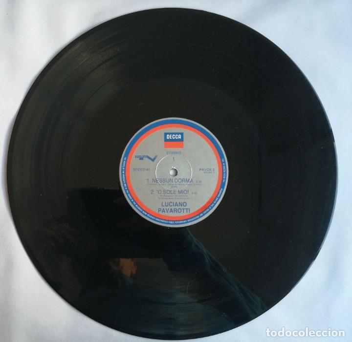 Discos de vinilo: Luciano Pavarotti, Nessun Dorma, Decca PAVOX 3 - Foto 3 - 254312680