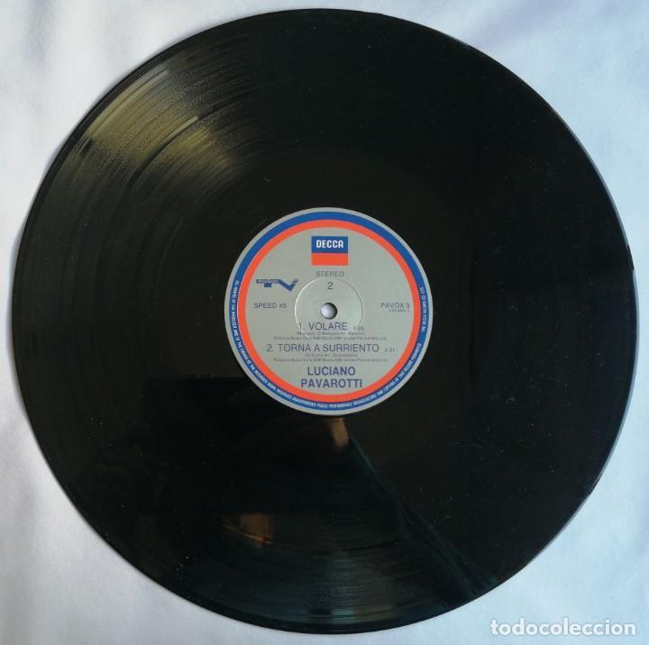 Discos de vinilo: Luciano Pavarotti, Nessun Dorma, Decca PAVOX 3 - Foto 5 - 254312680