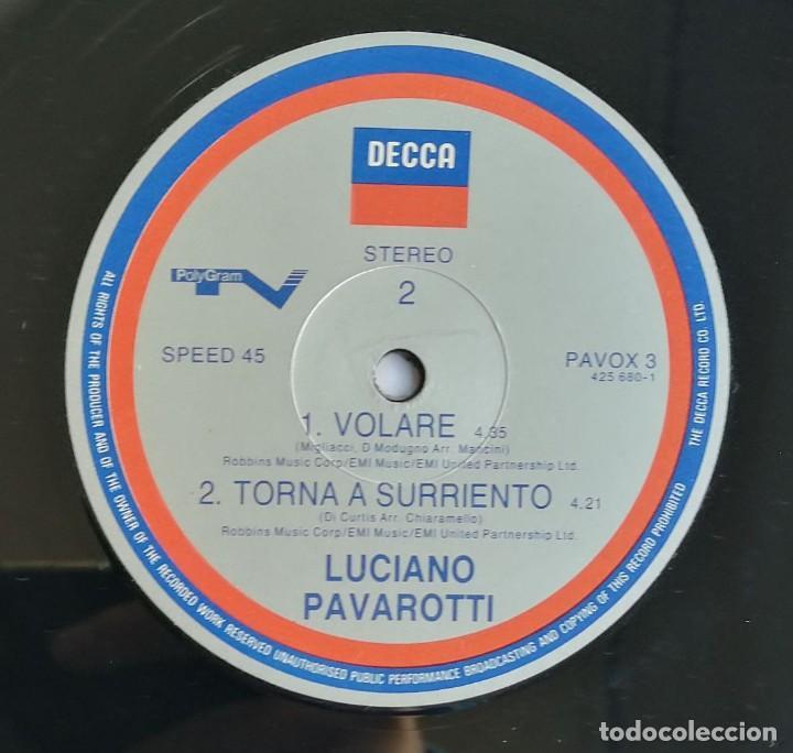 Discos de vinilo: Luciano Pavarotti, Nessun Dorma, Decca PAVOX 3 - Foto 6 - 254312680