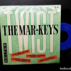 Disques de vinyle: EP THE MAR-KEYS, LAST NIGHT, MORNING AFTER, NIGHT BEFORE, POP-EYE STROLL. Lote 254321095