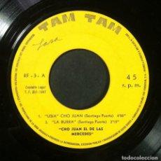 Discos de vinilo: CHO JUAN EL DE LAS MERCEDES - USIA CHO JUAN - EP 1967 - TAM TAM (HUMOR CANARIO). Lote 254324355
