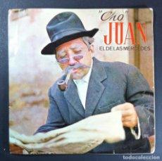 Discos de vinilo: CHO JUAN EL DE LAS MERCEDES - EL ANIVERSARIO - SINGLE 1968 - TAM TAM (HUMOR CANARIO). Lote 254325390