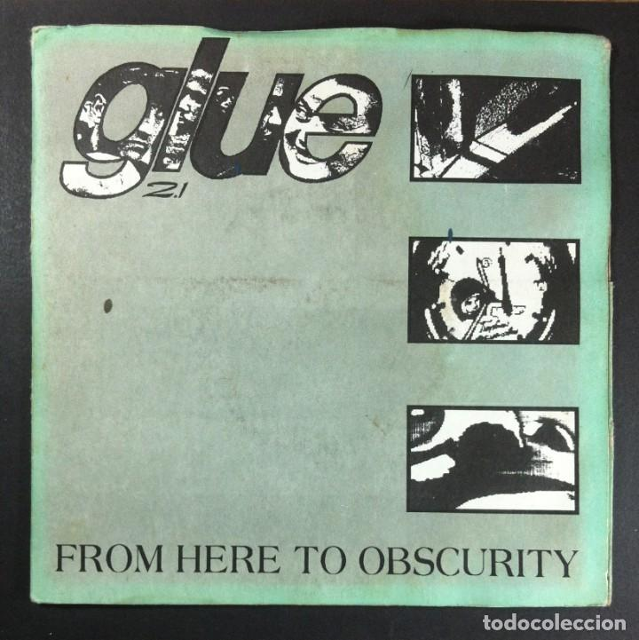 GLUE - FROM HERE TO OBSCURITY - EP UK 1994 - FEEBLE (GATEFOLD) (Música - Discos de Vinilo - EPs - Punk - Hard Core)