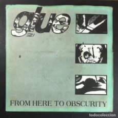 Discos de vinilo: GLUE - FROM HERE TO OBSCURITY - EP UK 1994 - FEEBLE (GATEFOLD). Lote 254341815