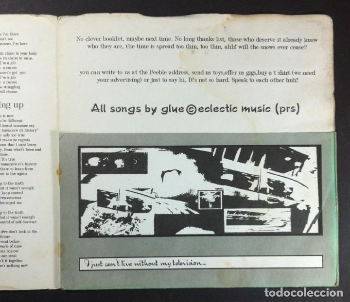 Discos de vinilo: GLUE - From Here To Obscurity - EP UK 1994 - FEEBLE (gatefold) - Foto 3 - 254341815