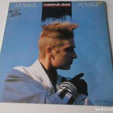 Discos de vinilo: DESIRELESS VOYAGE VOYAGE 1986. Lote 254344150