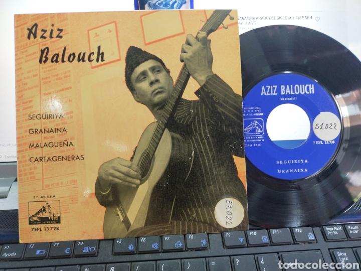 AZIZ BALOUCH EP SEGUIRIYA + 3 EN ESPAÑOL ESPAÑA 1962 RAREZA (Música - Discos de Vinilo - EPs - Étnicas y Músicas del Mundo)