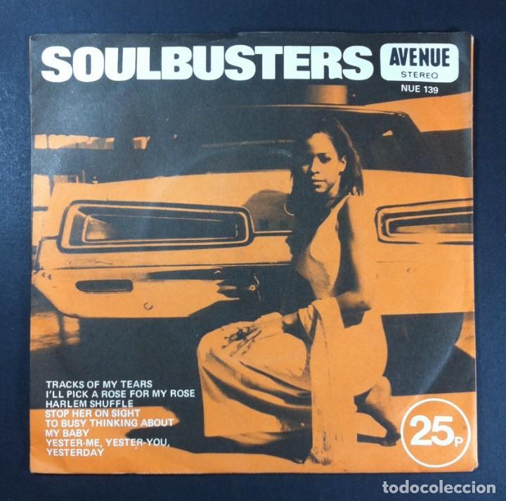 ALAN CADDY - SOULBUSTERS (SOUL VOL. II) - EP UK 33RPM 1971 - AVENUE (Música - Discos de Vinilo - EPs - Funk, Soul y Black Music)
